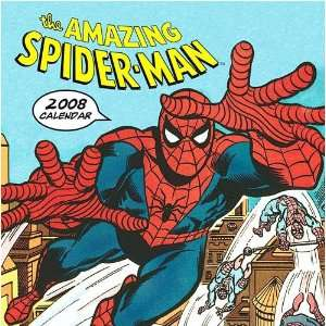 The Amazing Spider Man 2008 Wall Calendar
