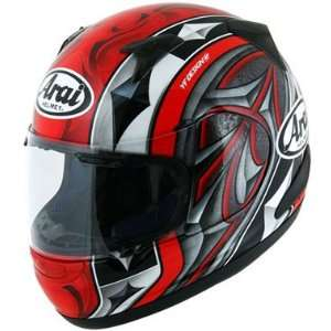 Arai RX Q Graphic Motorcycle Helmet   Ace Red Small Automotive