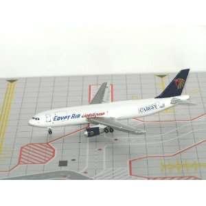 Jet X Egypt Air Cargo A300B4 200 SU BDG Model Airplane