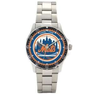 New York Mets Game Time Coach Series Mens MLB Watch