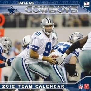 Dallas Cowboys Team Wall Calendar 2012: Home & Kitchen