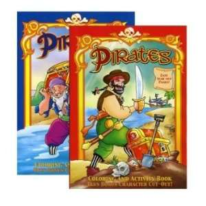 Jumbo Pirates Coloring & Activity Book Case Pack 48