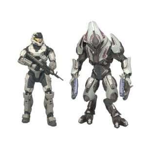 McFarlane Toys Halo Reach Series 1 Spartan Mark V [B] (Male) & Elite