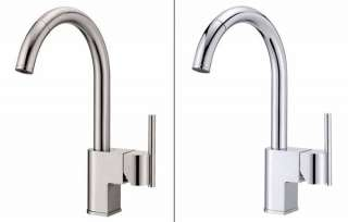 D457144SS Como Single Handle Pull Down Kitchen Faucet, Stainless Steel