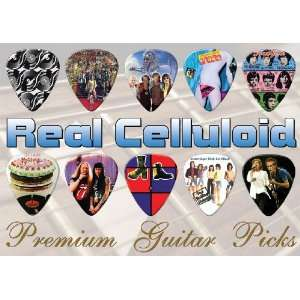 Rolling Stones Premium Guitar Picks X 10 (A4): Musical