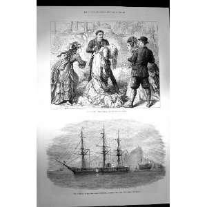 1872 False Shame Globe Theatre Svetlauna Hong Kong Ship