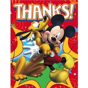 Lets Party By Hallmark Disney Mickey Fun and Friends Thank