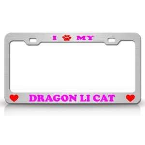 I PAW MY DRAGON LI Cat Pet Animal High Quality STEEL