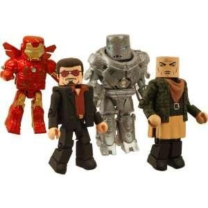 Marvel MiniMates Iron Man   Hostile Takeover Toys & Games