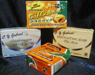 Buy any 3 soaps or more +free 1x 60g papaya whitening soap