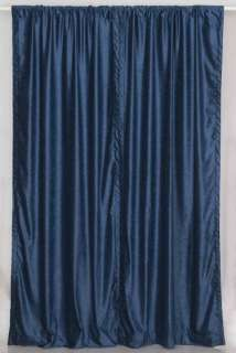Navy Blue Curtains In Curtains Drapes Valances