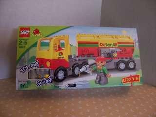 LEGO   DUPLO TANK TRUCK   Set #5605   (BRAND NEW!)