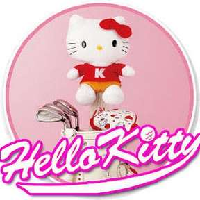 click for more original hello kiy golf producs from japan