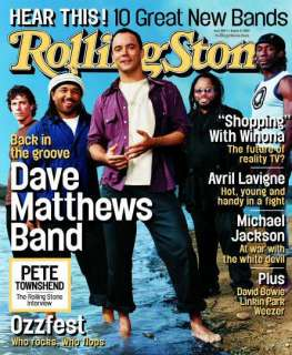 Rolling Stone Cover of Dave Matthews Band Rolling Stone Cover by Danny