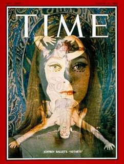 Joffrey Ballets Astarte Time/Life Cover by TIME Magazine at
