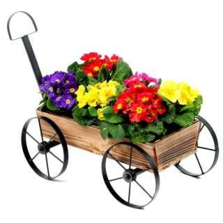 59cm x 29cm x 42cm Discounts  Pull A Long Flower Cart 59cm x 29cm