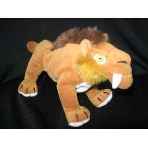 com Ice Age 8 Plush Saber Tooth Tiger Diego Bean Bag Toys & Games