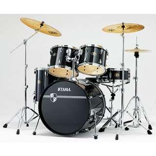 Tama Imperial Star Standard 5 piece Drum Set   Black  ActiveMusician