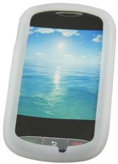 Clear Silicone Skin Case For LG 800g   LG Silicone Skin Case