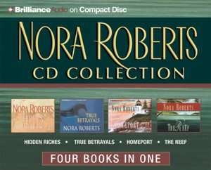 Nora Roberts CD Collection 2 Hidden Riches, True Betrayals, Homeport