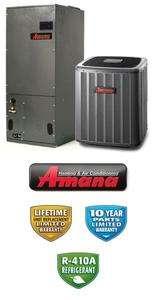Ton 15 Seer Amana Heat Pump System   ASZ140301   AVPTC31371