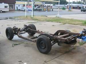 1975 1976 1977 1978 1979 Corvette Frame Rolling Chassis