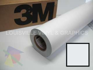 Roll 24 X 10 White Matte 3M ScotchCal Graphic & Sign Cutting Vinyl
