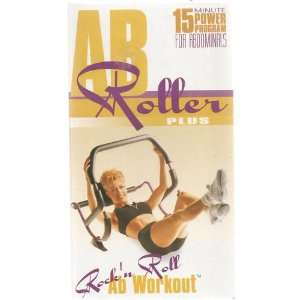 Ab Roller Plus (Rockn Roll Ab Workout, VHS): Books