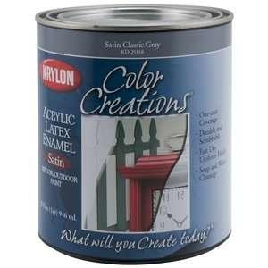 Krylon Color Creations Acrylic Latex Enamel, Satin