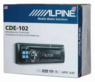 Alpine cd receiver
