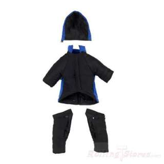 Casual Canine Dog Snowsuit Jacket Removable Legs Blue & Black
