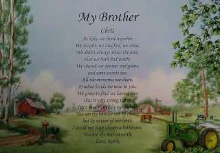 PERSONALIZED POEM BIRTHDAY OR CHRISTMAS GIFT IDEAS JOHN DEERE PRINT