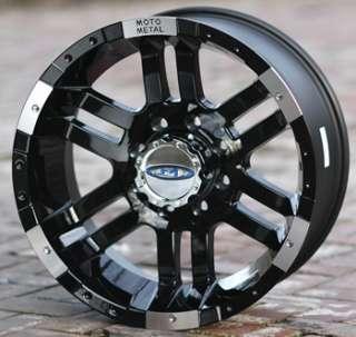 18 inch Black Wheels Rim MOTO METAL 951 Chevy GM HD Dodge 2500 3500