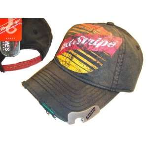 RED STRIPE BEER GREY BASEBALL CAP CAPS HAT HATS BOTTLE