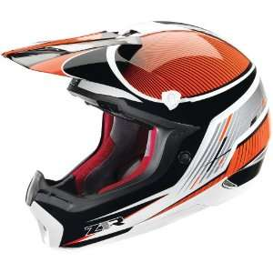 Z1R Nemesis Helmet Full Face Mens Orange Large: Automotive