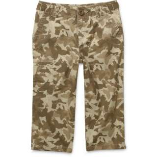 Faded Glory   Girls Butterfly Camo Capri Pants Girls
