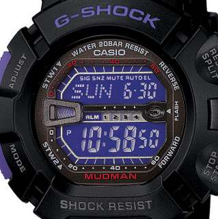 Casio G Shock MUDMAN Alarm Watch G 9000BP 1 G9000BP