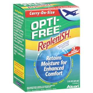 Replenish Multi Purpose Carry On Size Disinfecting Solution, 2 Oz