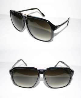 Nerd Style Cazal Design XL Black Lense Sunglasses Shades black Gold