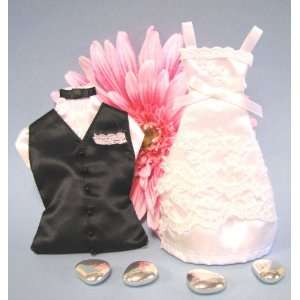 Wedding Dress Favor Bags and Groom Favor Bags