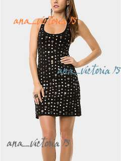 NWT Marciano Guess COLBY COIN GORGEOUS DRESS XS