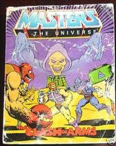 HE MAN MASTERS OF UNIVERSE MOTU MINI COMIC CLASH ARMS