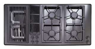 ... JENN AIR DESIGNER GAS COOKTOP DOWNDRAFT MODEL JGD8345ADB 45 ...