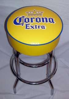 Corona Yellow Beer Sign Bar Stools Stool Barstool