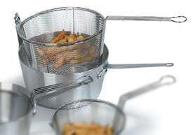 nickel steel Designed for small batch deep frying Ideal for frying