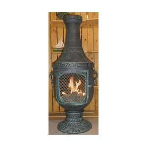 The Blue Rooster Venetian Style Chiminea w: Patio