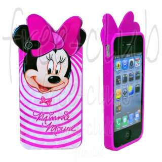 Disney Minnie Mouse Circle Case Cover for iPhone 4/4S