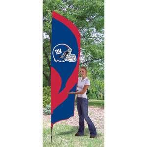 NFL   New York Giants Team Pole Flag