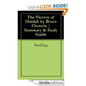 The Viceroy of Ouidah by Bruce Chatwin  Summary & Study Guide