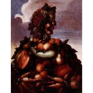 Giuseppe Arcimboldo   24 x 32 inches   The Seasons